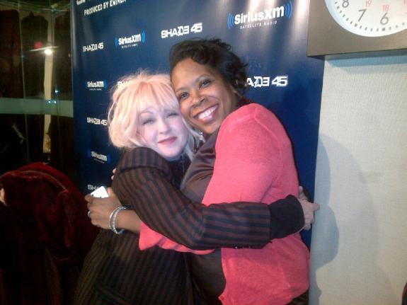 Yes....Me&Cyndi Lauper!