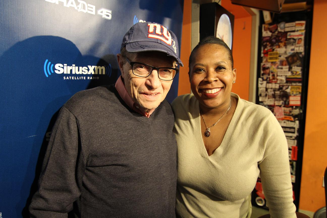 Me and The RADIO Legend...Mr. Larry King!
