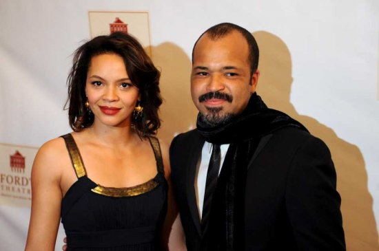 Jeffrey Wright with beautiful, Wife Carmen Ejogo