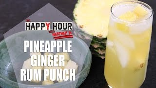 Pineapple Ginger Rum Punch