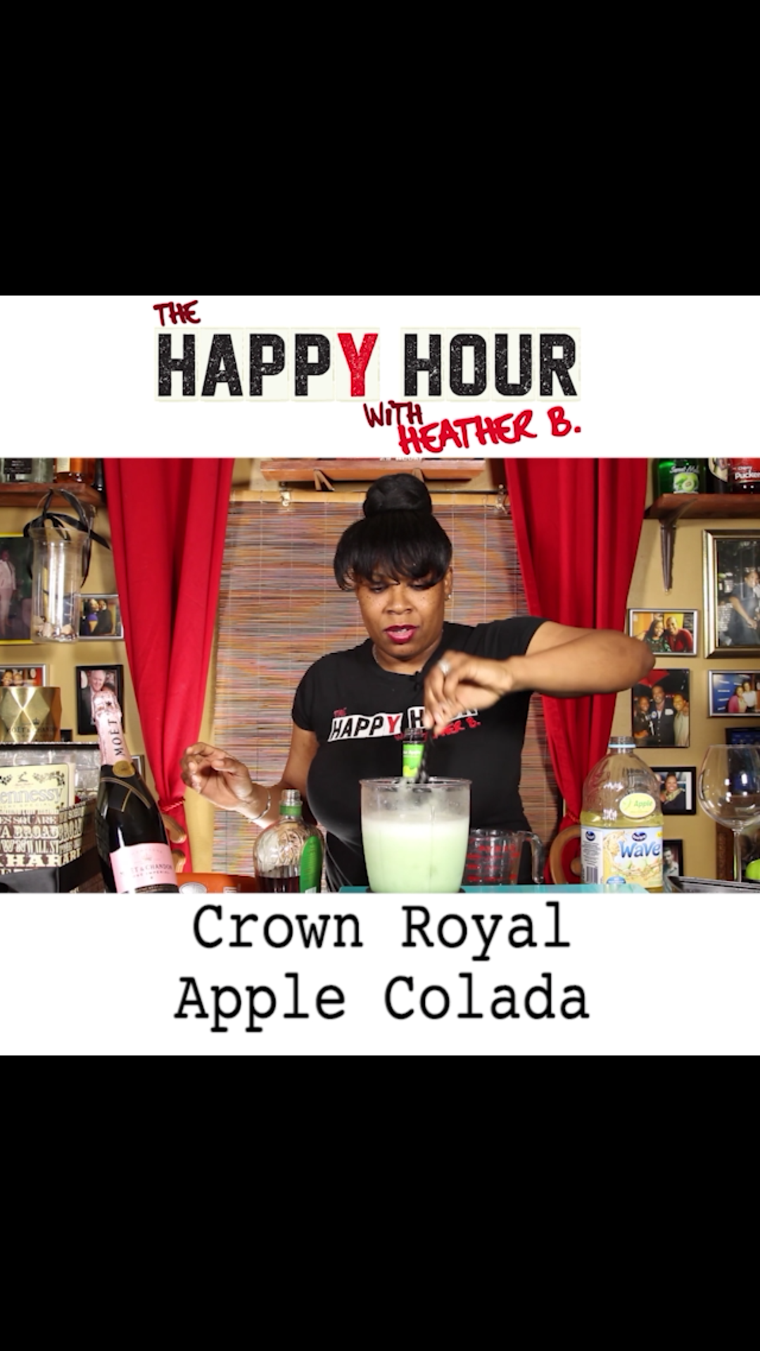 how to drink crown royal apple
